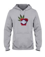 Arkansas - Marijuana Freedom Hooded Sweatshirt thumbnail