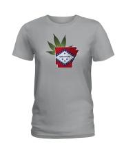 Arkansas - Marijuana Freedom Ladies T-Shirt thumbnail