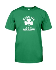 Kiss Me I'm a Arrow Premium Fit Mens Tee thumbnail