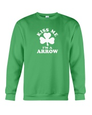 Kiss Me I'm a Arrow Crewneck Sweatshirt thumbnail