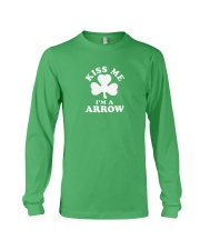 Kiss Me I'm a Arrow Long Sleeve Tee thumbnail