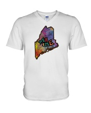 Maine V-Neck T-Shirt thumbnail