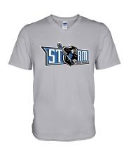New Jersey Storm V-Neck T-Shirt thumbnail