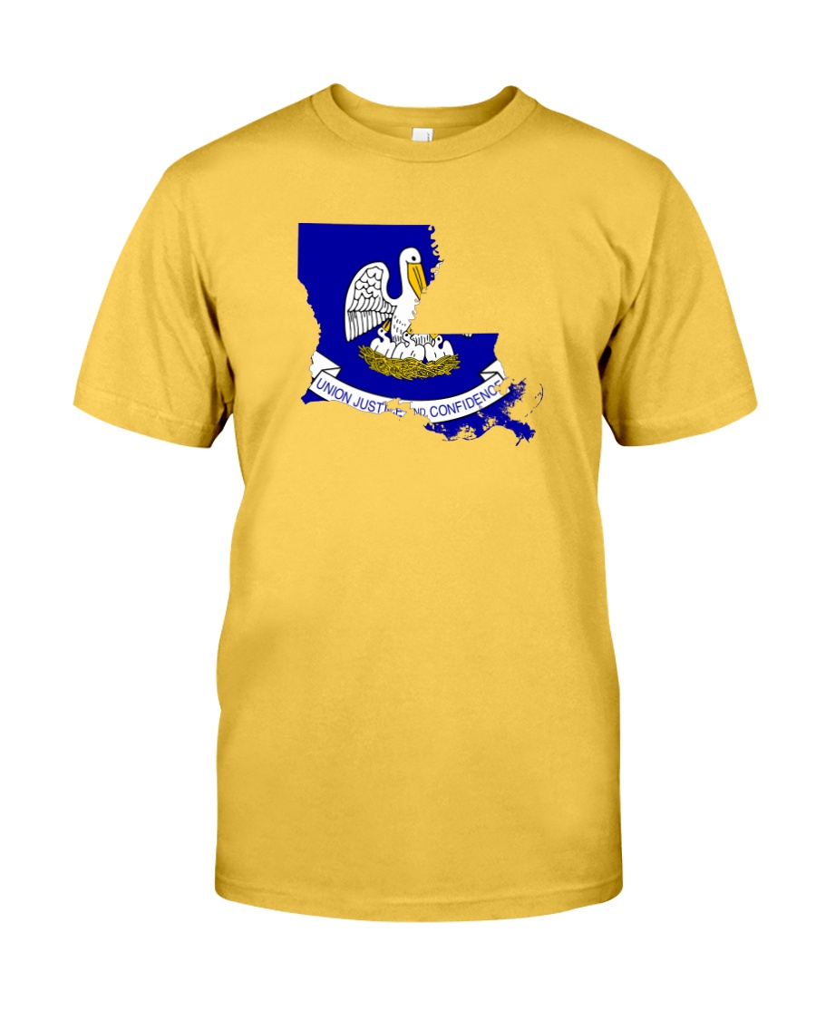 State Flag of Louisiana Classic T-Shirt