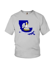 State Flag of Louisiana Youth T-Shirt thumbnail