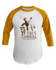 Tal's Corral - Hattiesburg Mississippi Baseball Tee front
