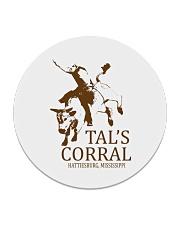 Tal's Corral - Hattiesburg Mississippi Circle Coaster thumbnail