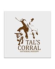Tal's Corral - Hattiesburg Mississippi Square Coaster thumbnail