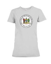 Great Seal of the State of Delaware Premium Fit Ladies Tee thumbnail
