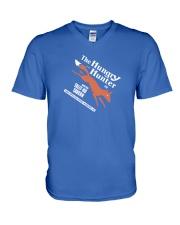 The Hungry Hunter - Auburn Alabama V-Neck T-Shirt thumbnail