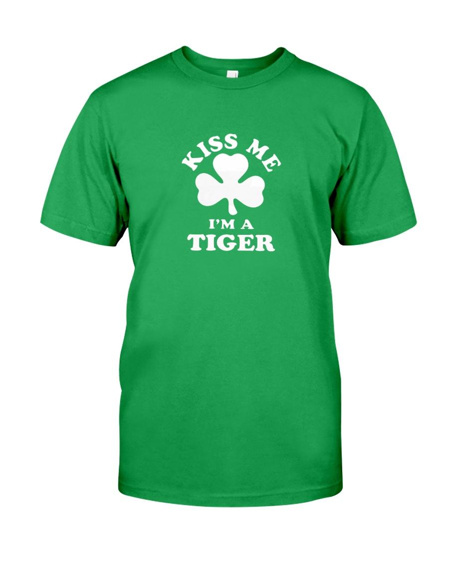 Kiss Me I'm a Tiger Classic T-Shirt