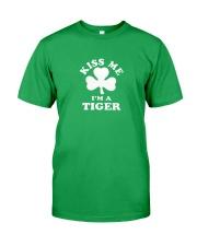 Kiss Me I'm a Tiger Classic T-Shirt front