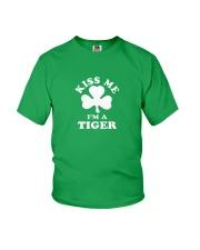 Kiss Me I'm a Tiger Youth T-Shirt thumbnail