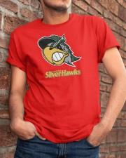 South Bend Silver Hawks Classic T-Shirt apparel-classic-tshirt-lifestyle-26