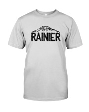 Mount Rainier - Washington Premium Fit Mens Tee thumbnail