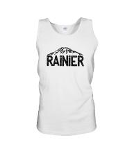 Mount Rainier - Washington Unisex Tank thumbnail