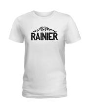 Mount Rainier - Washington Ladies T-Shirt thumbnail