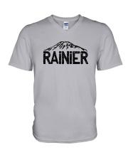 Mount Rainier - Washington V-Neck T-Shirt thumbnail
