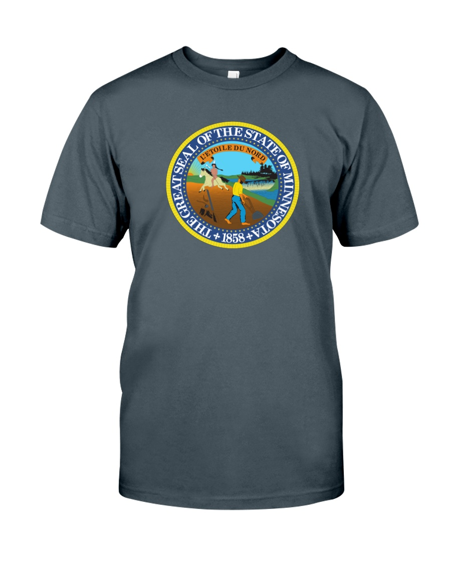 Great Seal of the State of Minnesota Classic T-Shirt