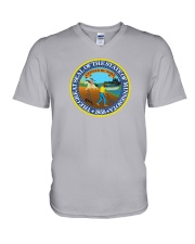 Great Seal of the State of Minnesota V-Neck T-Shirt thumbnail