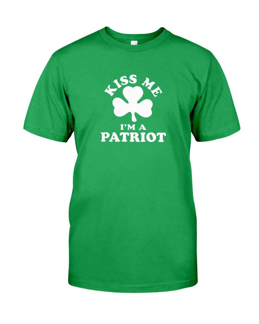 Kiss Me I'm a Patriot Classic T-Shirt