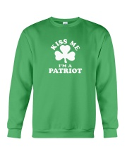 Kiss Me I'm a Patriot Crewneck Sweatshirt thumbnail