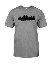 Kansas City Skyline Premium Fit Mens Tee thumbnail