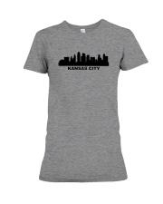 Kansas City Skyline Premium Fit Ladies Tee thumbnail