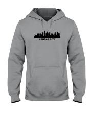 Kansas City Skyline Hooded Sweatshirt thumbnail