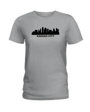 Kansas City Skyline Ladies T-Shirt thumbnail