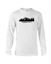 Kansas City Skyline Long Sleeve Tee thumbnail