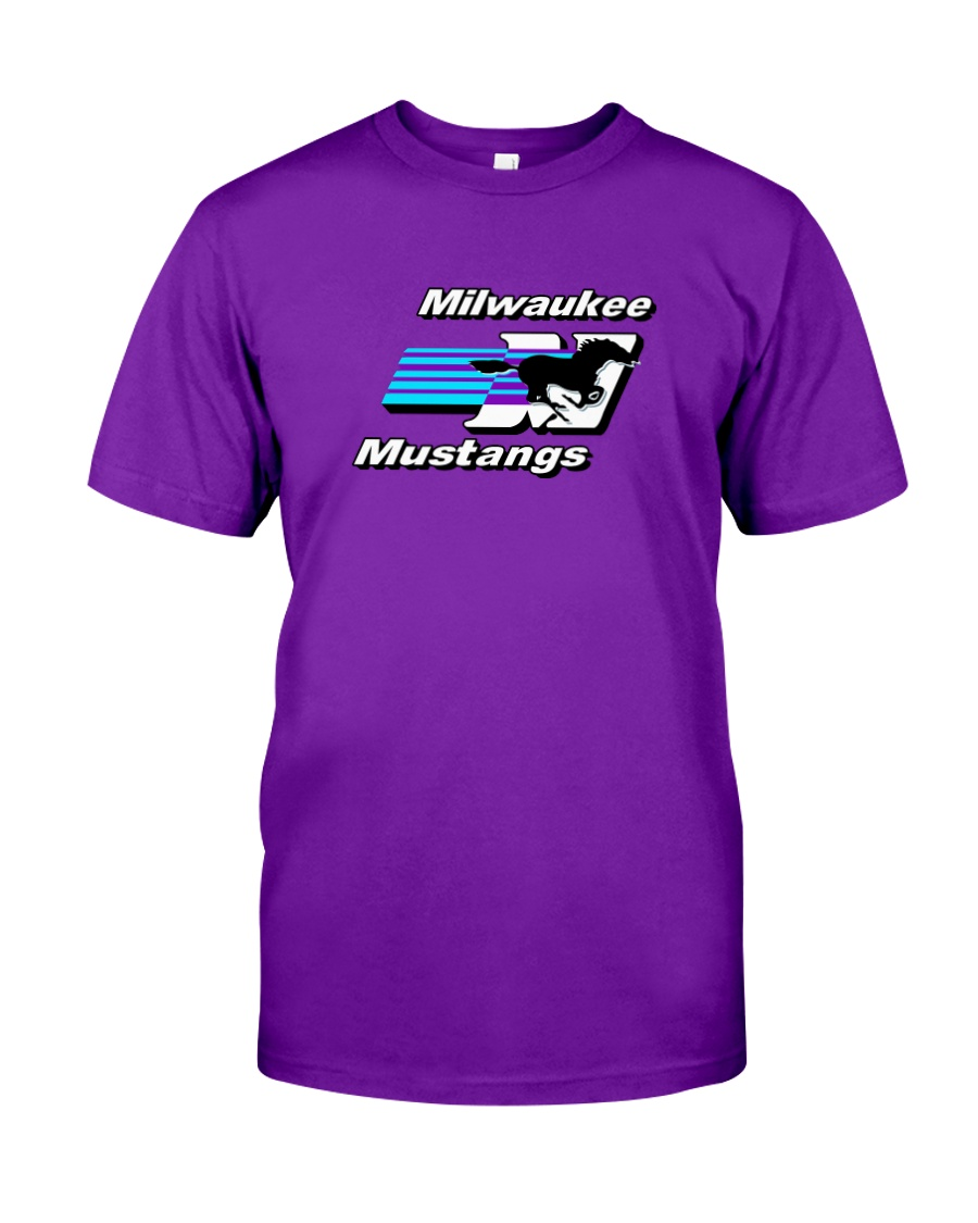Milwaukee Mustangs Classic T-Shirt