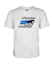Milwaukee Mustangs V-Neck T-Shirt thumbnail