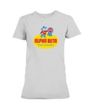 Alpha Beta  Premium Fit Ladies Tee thumbnail