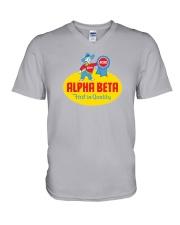 Alpha Beta  V-Neck T-Shirt thumbnail