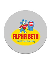 Alpha Beta  Circle Coaster thumbnail