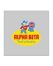 Alpha Beta  Square Coaster thumbnail