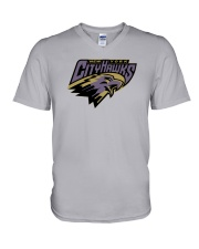 New York CityHawks V-Neck T-Shirt tile