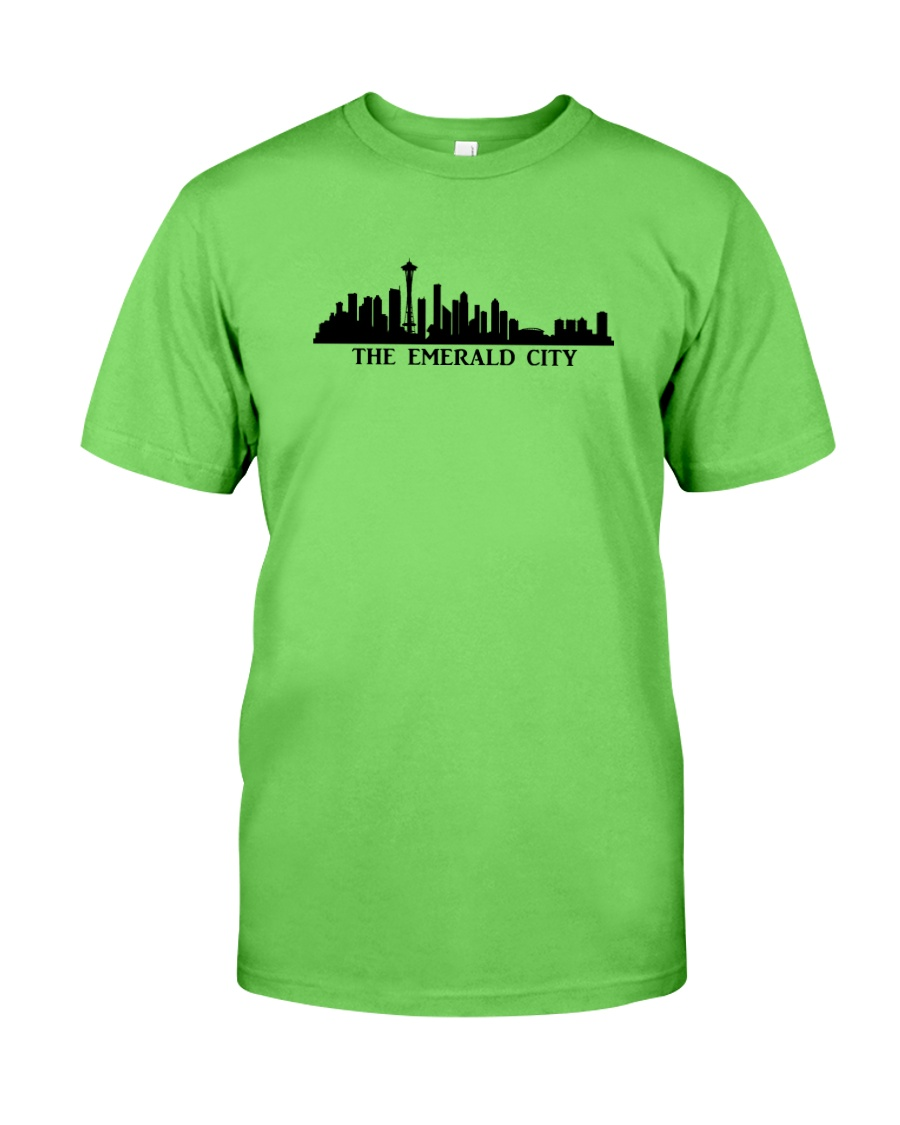 The Seattle Skyline Classic T-Shirt