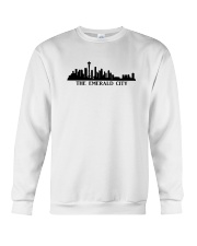 The Seattle Skyline Crewneck Sweatshirt tile