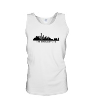 The Seattle Skyline Unisex Tank thumbnail