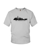 The Seattle Skyline Youth T-Shirt tile