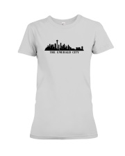 The Seattle Skyline Premium Fit Ladies Tee tile