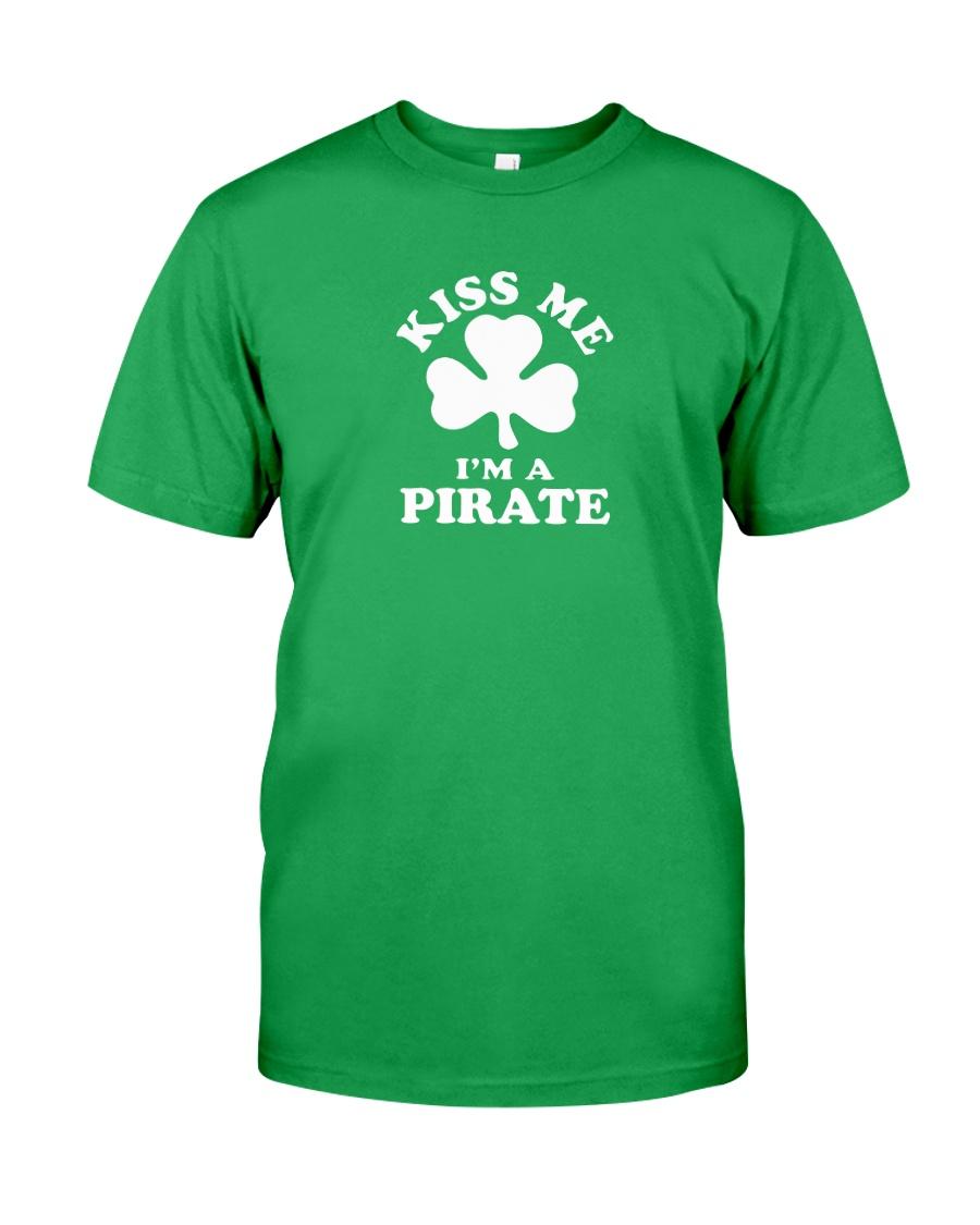 Kiss Me I'm a Pirate Classic T-Shirt