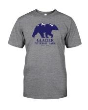 Glacier National Park - Montana Classic T-Shirt front