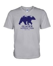 Glacier National Park - Montana V-Neck T-Shirt thumbnail