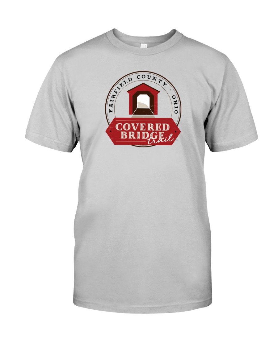 Covered Bridge Trail - Fairfield County Ohio Classic T-Shirt