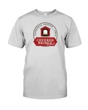Covered Bridge Trail - Fairfield County Ohio Premium Fit Mens Tee thumbnail