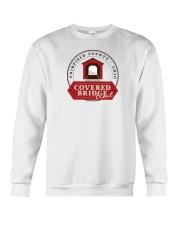Covered Bridge Trail - Fairfield County Ohio Crewneck Sweatshirt thumbnail
