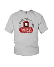 Covered Bridge Trail - Fairfield County Ohio Youth T-Shirt thumbnail